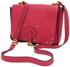 Chloé Aurore Front Flap Leather Cross Body Bag