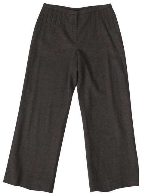 Preload https://img-static.tradesy.com/item/22473148/armani-collezioni-brown-stretch-wool-ankle-trousers-size-8-m-29-30-0-2-650-650.jpg
