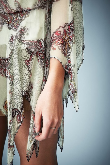 Kate Moss for Topshop Beaded Top Paisley