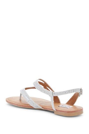 Not Rated silver Sandals