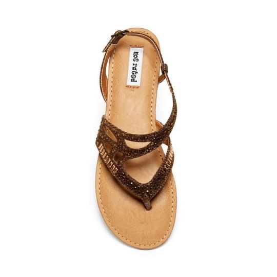 Not Rated bronze Sandals