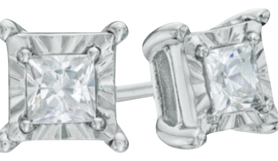 Kay Jewelers New Silver Diamond Studs