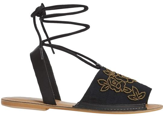 Preload https://item1.tradesy.com/images/topshop-black-embroideried-sandals-size-us-6-regular-m-b-22473315-0-1.jpg?width=440&height=440