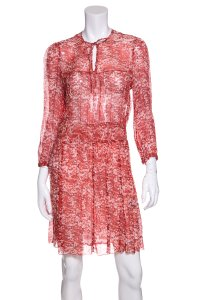 Isabel Marant short dress Red on Tradesy