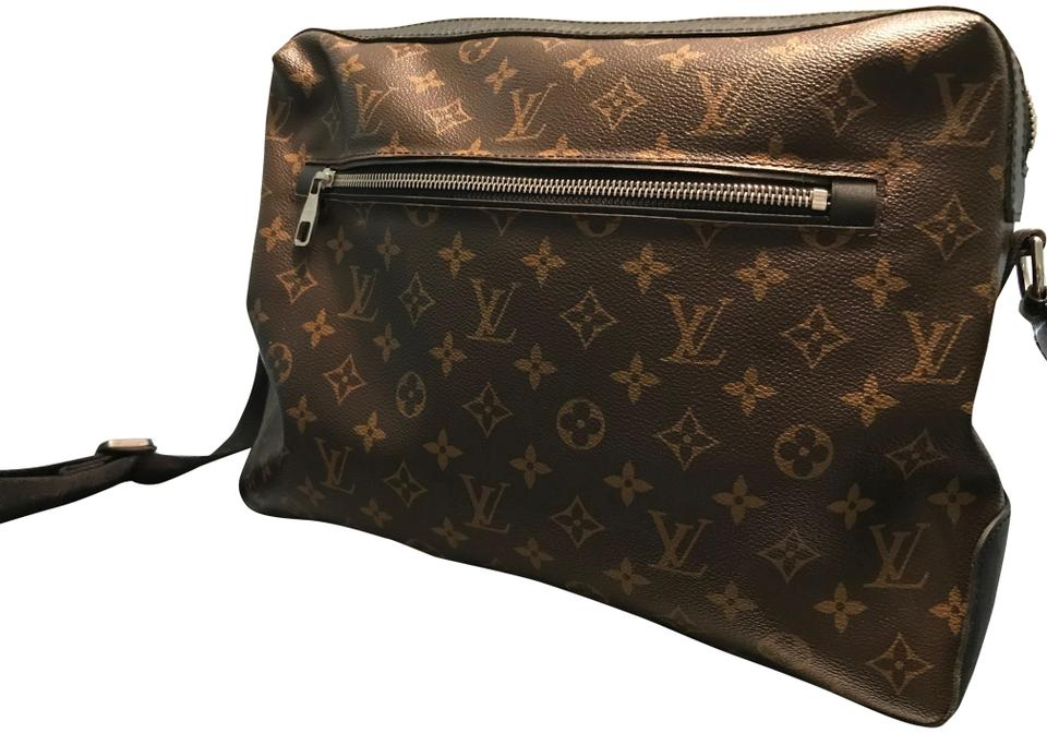 f8b087514d06 Louis Vuitton Macassar Torres Gm Brown Monogram Canvas Messenger Bag ...