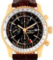Breitling Breitling Navitimer World 18K Rose Gold Black Dial LE Watch H24322