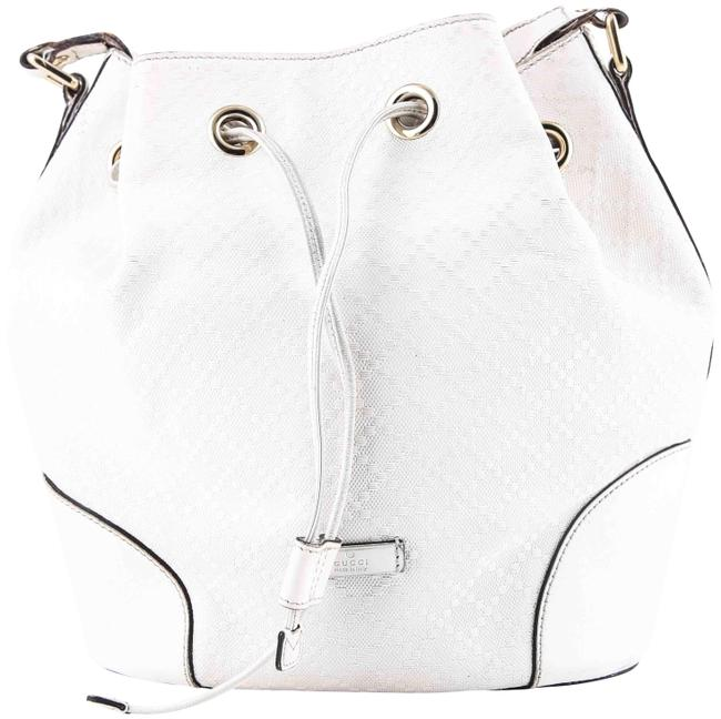 Item - Bucket Diamante White Shoulder Bag