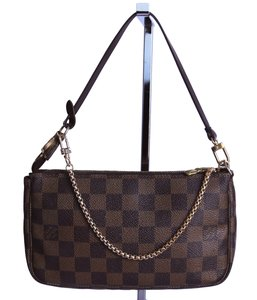 Louis Vuitton Vintage Monogram damier ebene Clutch