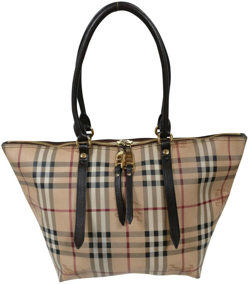 8ff546381467 Burberry Salisbury Heymarket Check Shoulder Tote in beige Image 0 ...