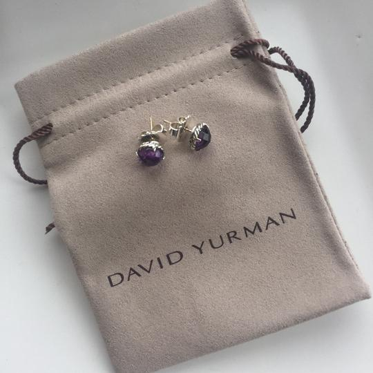 David Yurman David Yurman Ameythst Chatelaine Earrings Image 1