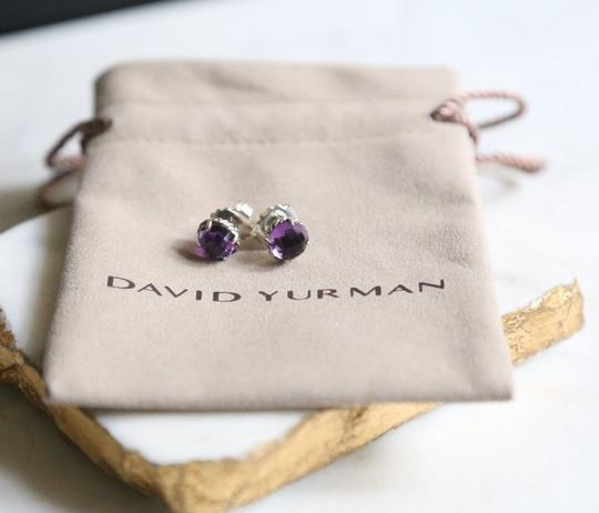 David Yurman David Yurman Ameythst Chatelaine Earrings Image 2