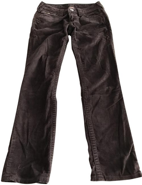 Item - Brown Corduroy 'billy Big T' Straight Leg Jeans Size 27 (4, S)