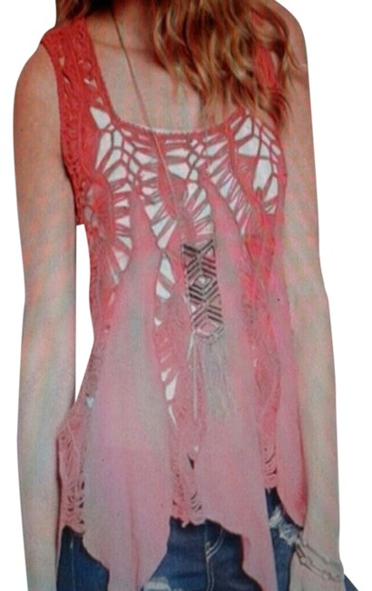 Preload https://item1.tradesy.com/images/coral-blouse-size-10-m-2247470-0-0.jpg?width=400&height=650