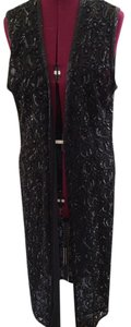 Niteline Sequin Long Party Vest