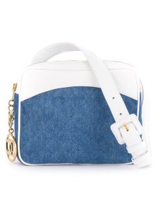 Chanel Denim Jean Fanny Pack Waist Cross Body Bag