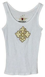 Twisted Heart Top white/ivory