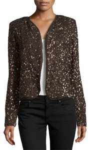 Nicole Miller Embellished Evening Sequin Blazer