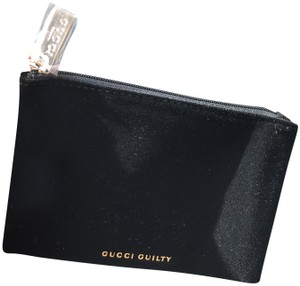 Gucci TONIGHT ONLY SALE!! New Gucci Black Velvet Cosmetic Pouch