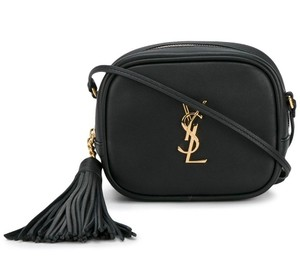 Saint Laurent Gold Hardware Cross Body Bag