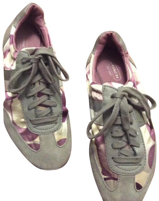 Item - Grey Violet and Cream Kinsley Sneakers Size US 6.5 Regular (M, B)