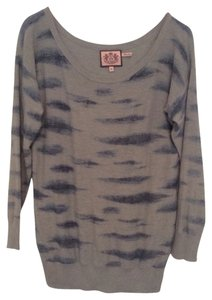 Juicy Couture Print Stylish Designer Juniors Sweater