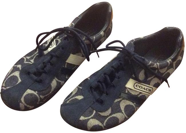 Item - Navy and Cream Katelyn Tennis Sneakers Size US 6.5 Regular (M, B)