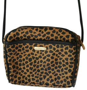 Liz Claiborne Animal Print Pump Cross Body Bag