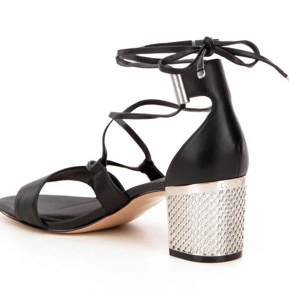 c95a1794cdea2d calvin klein black sandals calvin klein black s natania dress sandals size  us 8