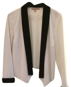 Green Envelope Black & White Blazer