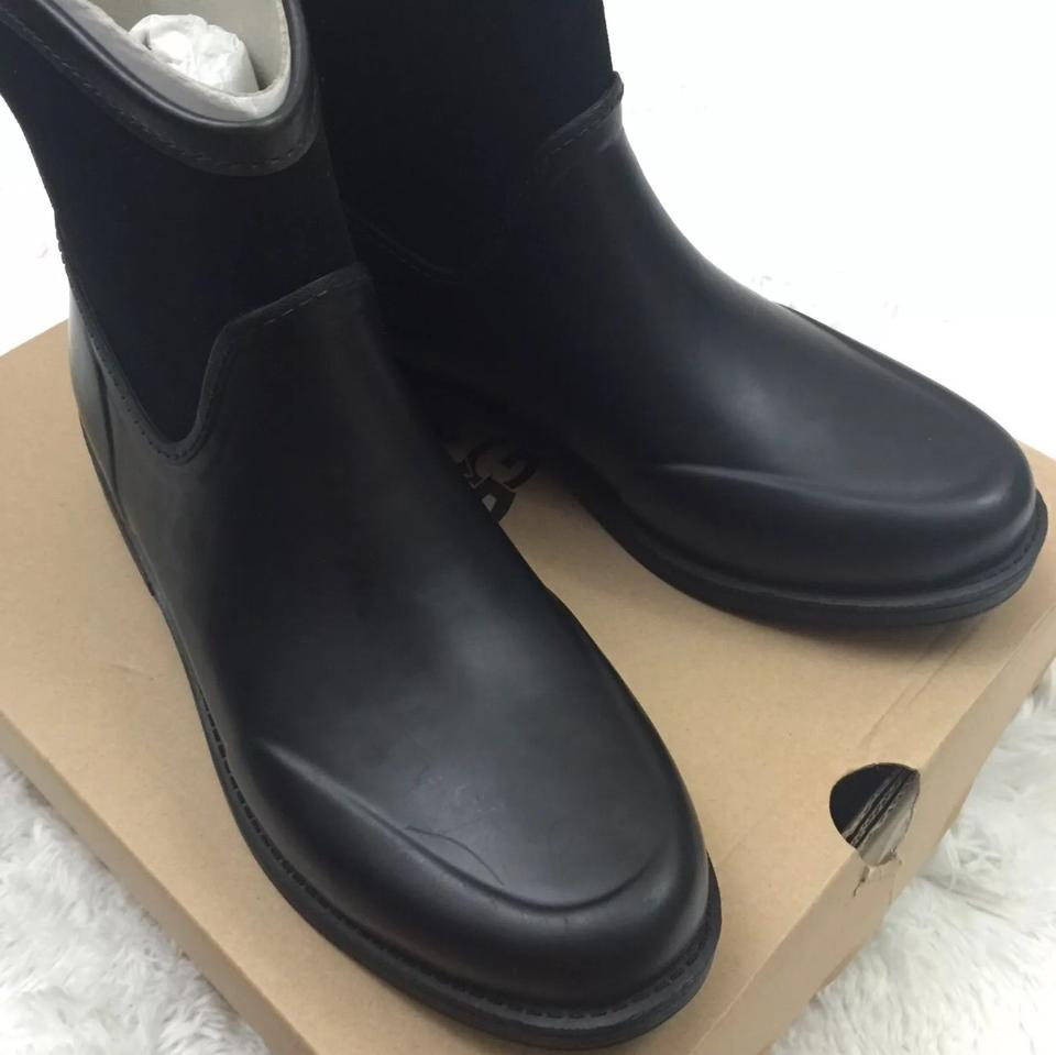 4c3a3483dd0 UGG Australia Black New Women's Paxton Rain Boots/Booties Size US 6 Regular  (M, B) 20% off retail