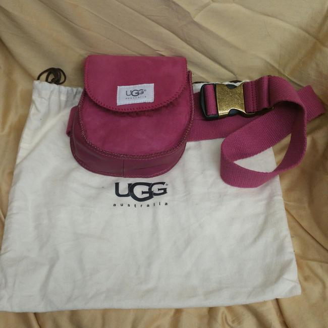 Item - Fanny Pack/Waist Pink Lambskin Leather Backpack
