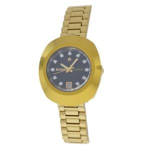 Rado Ladies Rado Diastar 561.0316.3 Gold Plated Date Automatic Diamond