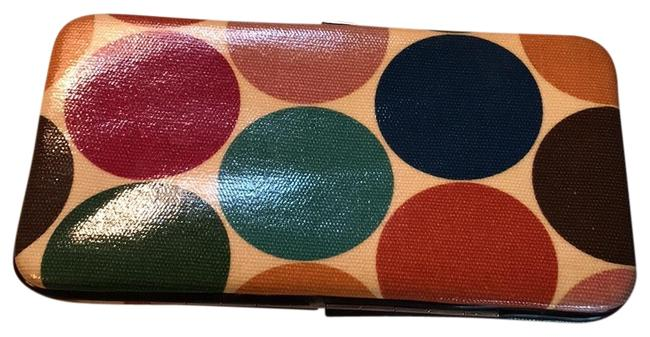 Item - Multicolor Slim Line Snap Top Wallet