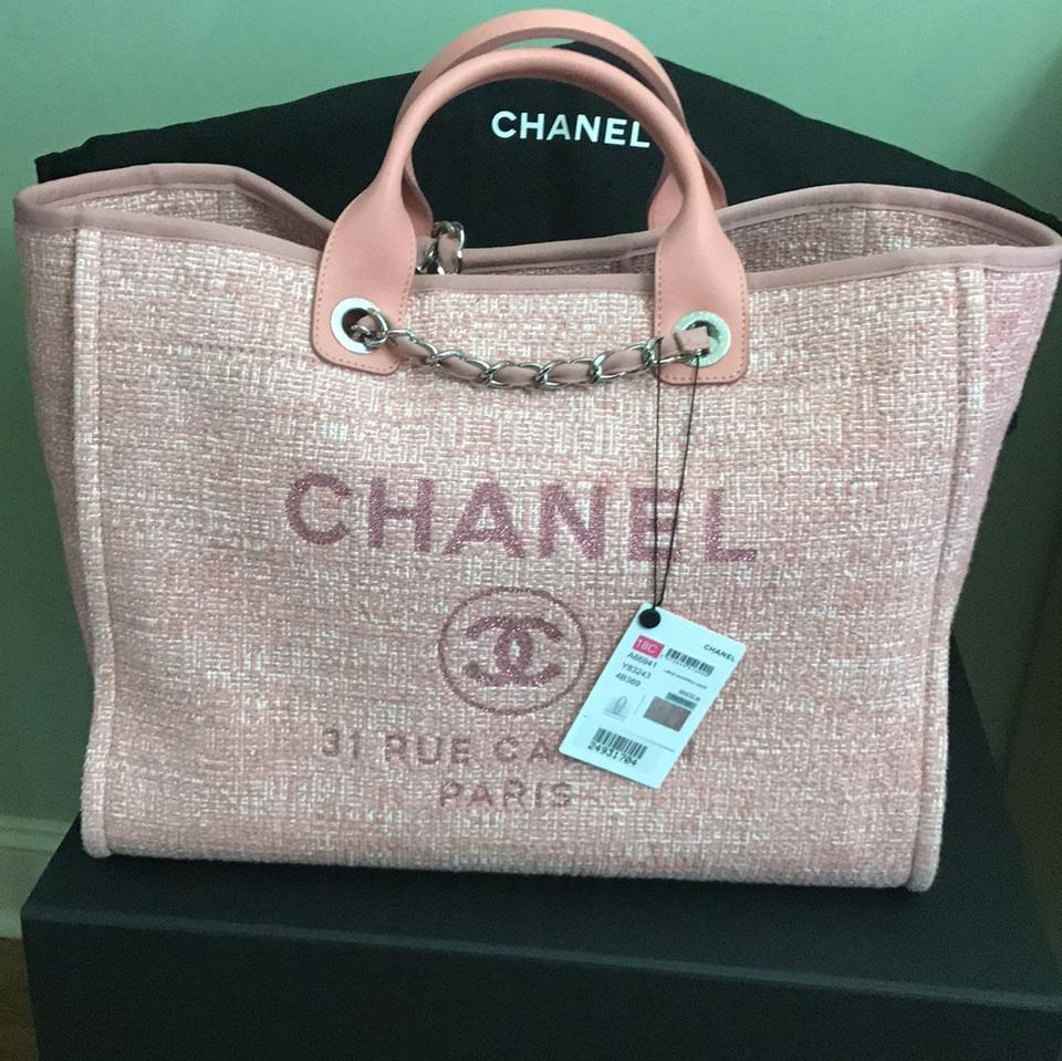 ca790e5d9b4f Chanel Deauville Tote Bag 2018 | Stanford Center for Opportunity ...