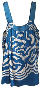 MINT Jodi Arnold Top Blue and White