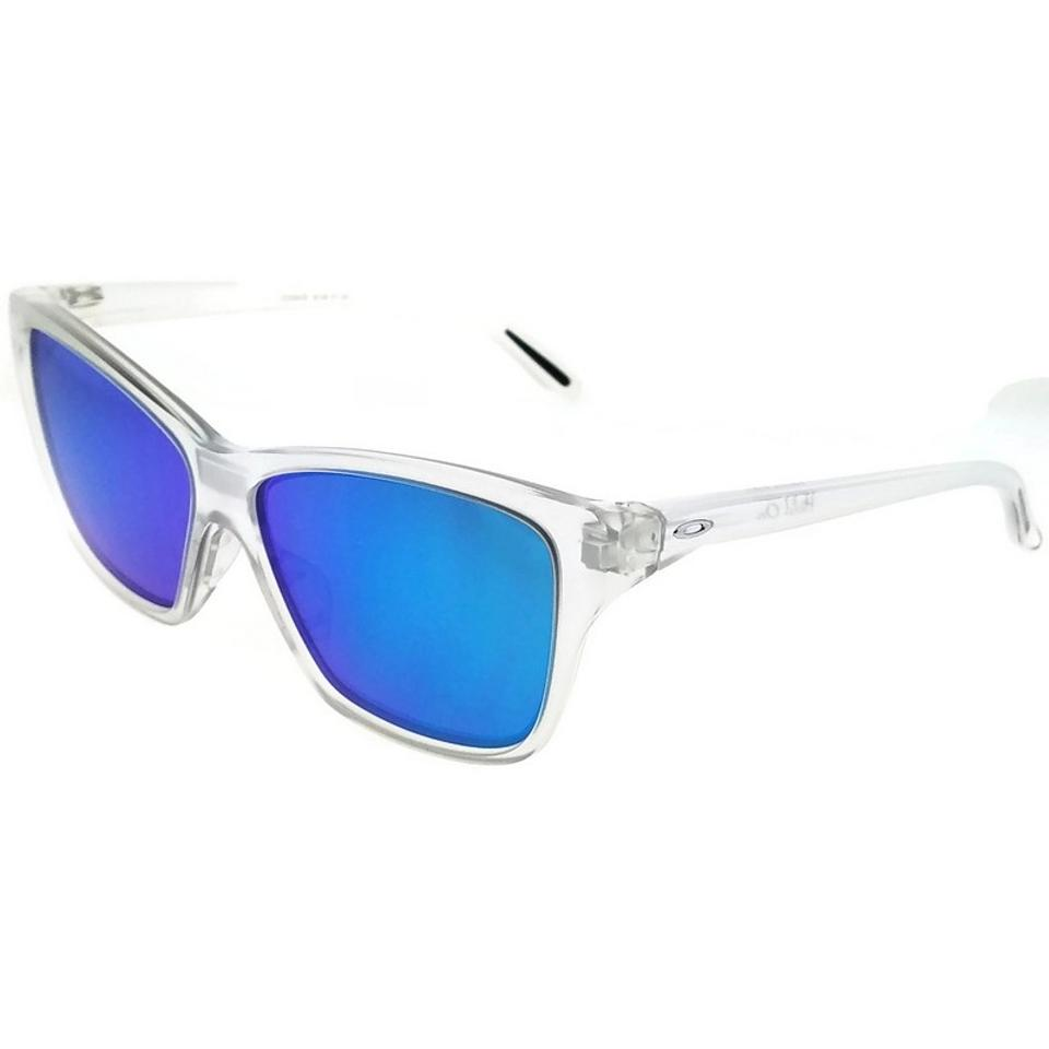Oakley Clear Frame Oo9298-09 Hold On Women\'s Blue Lens Genuine ...