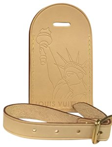 Louis Vuitton LOUIS VUITTON Statue of Liberty LUGGAGE TAG from VVV in NYC