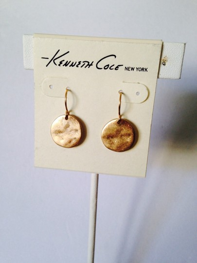 Kenneth Cole Kenneth Cole Gold-Tone Circular Station Dangle Necklace Only! Matching Earrings Sold Seperately.