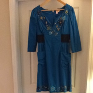 Plenty by Tracy Reese short dress Blue on Tradesy