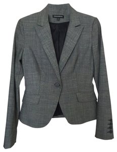 Express Grey Professional Business Dark Grey Blazer