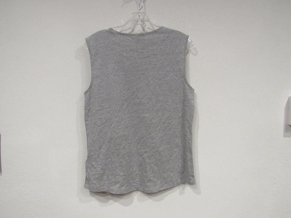 88e0b050749951 J.Crew Gray Orange Mixed Stone Muscle Tank Top Cami. Size  6 (S) Item ...