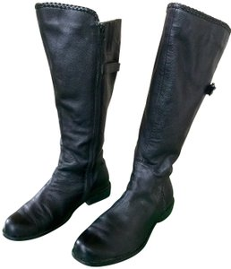Gabriella Rocha Black Leather Boots