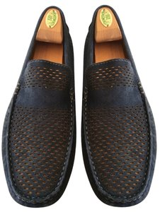 Other Deep Blue/mustard Flats