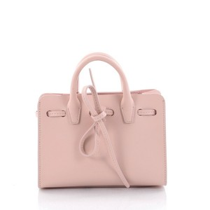 Mansur Gavriel Leather Tote in light pink