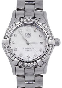 TAG Heuer TAG Heuer WAF1416 Aquaracer Diamond Dial Stainless Steel Ladies Watch