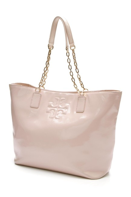 Item - Bag Charlie Light Oak (Blush Pink) Patent Leather Tote
