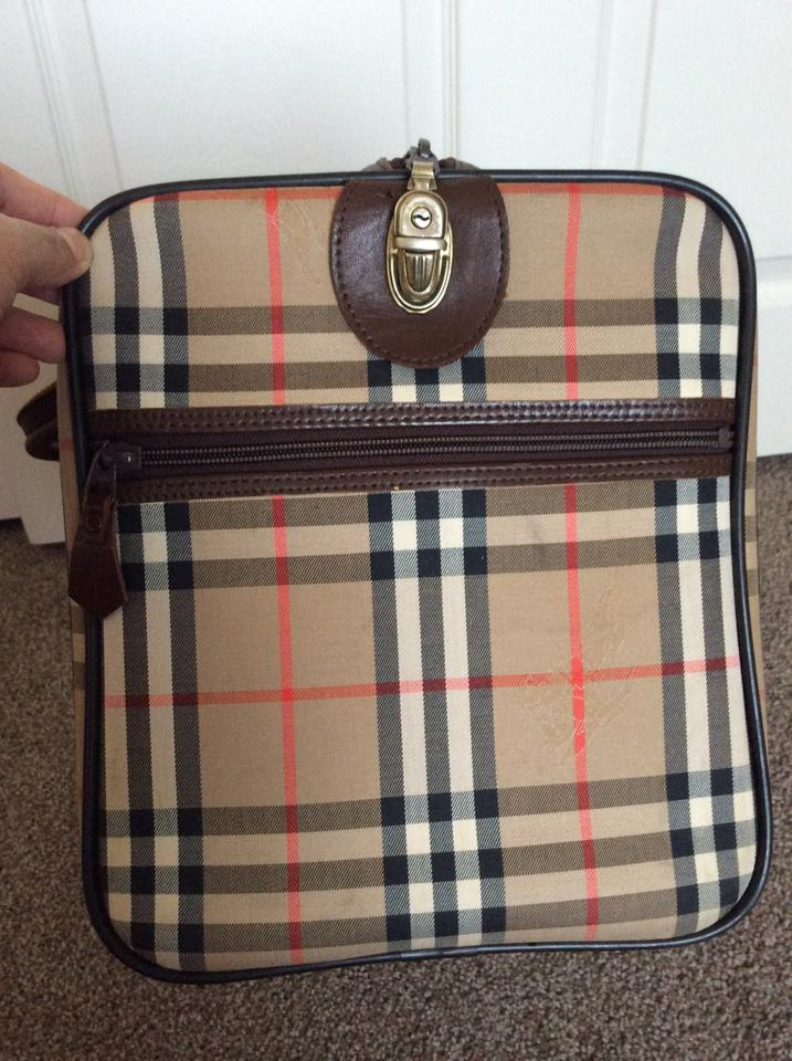 Burberry Nova Check Travel Bag