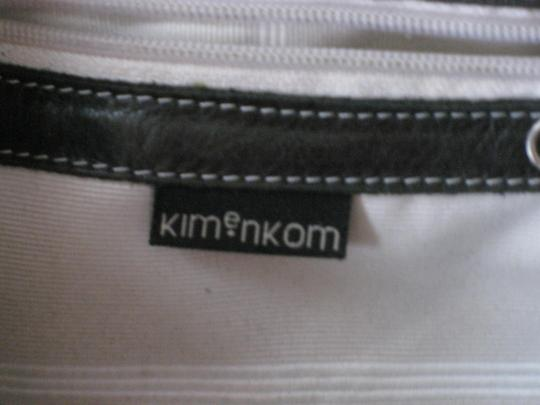 kimenkom Leather Leather Argentinean Leather Large Work Tote in black
