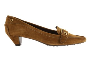 The Original Car Shoe Brown Pumps
