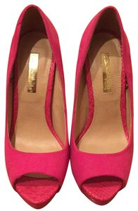 Miss Selfridge Fuchsia/Pink Pumps